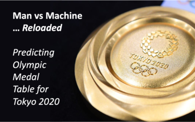 How easy can you predict the final Olympic medal table with a simple but data-driven approach?